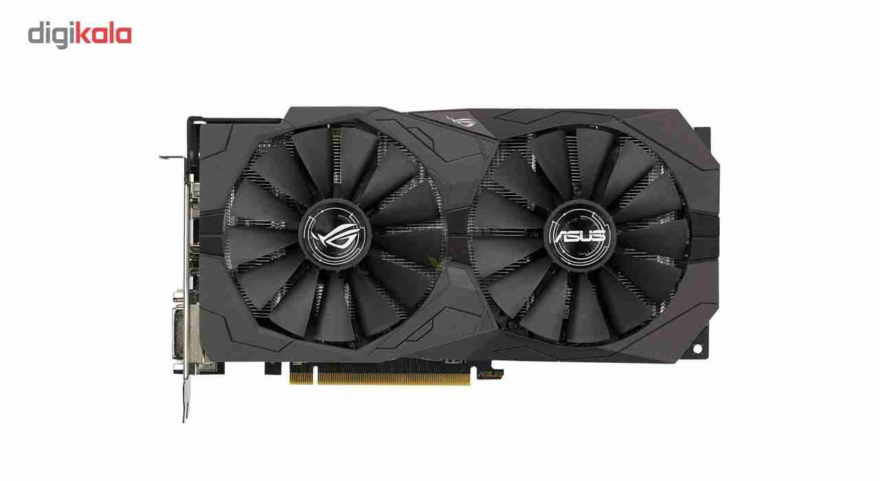 کارت گرافیکی ایسوس مدل ROG-STRIX-RX570-O4G-GAMING-        ASUS ROG-STRIX-RX570-O4G-GAMING Graphics Card